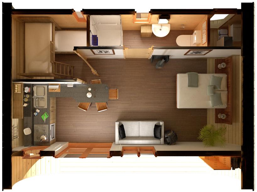 Планировки маленьких домов фото